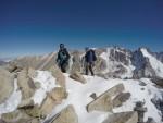 Peak Boks zirve sırtında tırmanırken