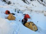 Peak Pobeda kamp 1 (~4500m)