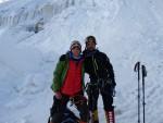 Khan Tengri kamp 2 (5500m) yolunda