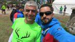Caner Odabaşoğlu ile birlikte Mont Blanc bitiş çizgisinde
